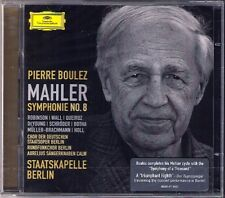 Pierre Boulez MAHLER SYMPHONY NO. 8 DG 2cd Botha DeYoung Queiroz Müller-Brach Uomo