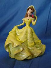 "Beauty & Beast Belle Dress Christmas Ornament 4"" Resin Disney Parks 2011 Figure"