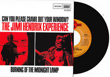 "JIMI HENDRIX EXPERIENCE ""CAN YOU PLEASE CRAWL""/""MIDNIGHT LAMP"" MONO 7"" VINYL"