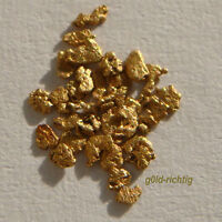 25 GOLDNUGGETS aus Alaska Goldnugget Goldbarren Goldmünze Gold Nuggets Geschenk