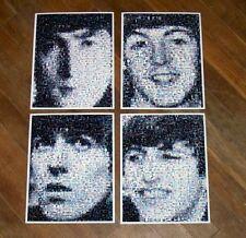 Amazing RARE 1964 set The Beatles John Paul George Ringo face photo Montages