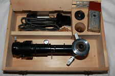 LOMO Microscope Polarizing POL Attachment OI-8 Reflected Light Set Objectives