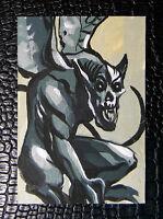Semi-nude demon Grendel/'s mother GOTHIC FANTASY ART 8x10