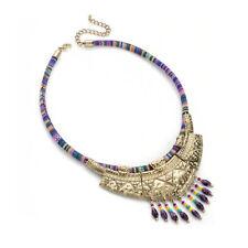 Fabric Beaded Costume Necklaces & Pendants