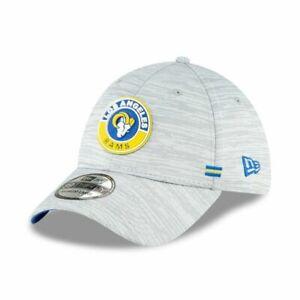 Los Angeles Rams New Era NFL 2020 Onfield Road 39Thirty Flex Fit hat cap L/XL