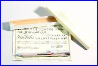 4 Farb 1,18 mm Minen Bleistift FEND SUPER NORMA METALL VERSILBERT um 1950