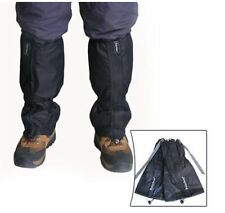 Waterproof Leg Gaiters Boot Shoe Cover for Outdoors Hiking Walking Climbing