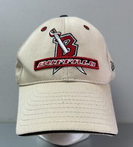 Vintage Buffalo Sabres NHL New Era Cap Hat One Size Fits All Hockey Goat Head