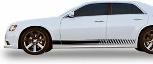 Racing Stripes Decal for Chrysler 300 2 Pcs, Vinyl Sticker Window Laptop graphic