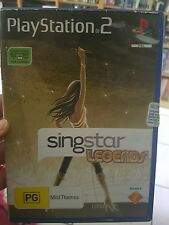 Singstar Legends (no booklet) PLAYSTATION 2 PS2  - FREE POST *