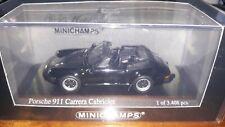 Minichamps 1/43 Porsche 911 Carrera Cabriolet 1983 black