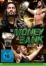 WWE Money in the Bank 2016 [DVD] *NEU* Deutsch, Englisch, Français, Español