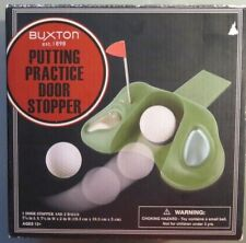 Buxton Putting Practice Door Stopper with 2 balls (B7)