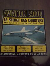 Aviation 2000 N°) 6 Jean Boulet Le Marchetti Aéro club Alsace Salon de Toussus