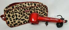 BeLissPRO Limited Edition Red Genius Professional Curl Machine with leopard case