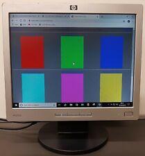 "HP L1506 TFT (Thin-Film Transistor) Flat Panel 15"" Monitor"
