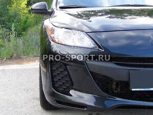 Mazda 3 2009 2010 2011 2012 2013 sedan eye brow, eyelids, cilia head lights