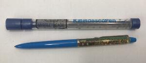 2 Collectible Vintage Pens 'Western' Floaty Pen, Kaleidoscope Pen - Murtle Beach