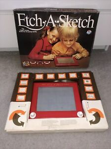 ETCH A SKETCH VINTAGE 1980 Berwick Toys Limited Boxed