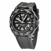 Luminox 0201.SL Men's Black Dial Strap Black Carbon Plastic Watch