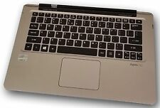 Acer Aspire S3-391 Touchpad Keyboard Palmrest Power Button 60.4TH02.004