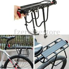 60kg Disc Brake Bicycle Road Bike Alloy Rear Rack Carrier Pannier Reflector Set