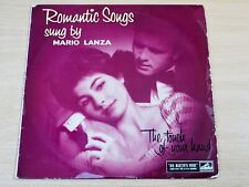 "Mario Lanza/Romantic Songs by/HMV 10"" LP"