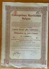 Entreprises Maritimes Belges - Antwerpen