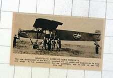 1920 NUOVO FOKKER Monoplano senza fili Supporta'S porta sei passeggeri