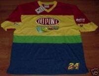 Jeff Gordon #24 Dupont Trackside Jersey Shirt Large New