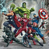 5D Diy Diamond Painting The Avengers Marvel Comic Super Hero Cartoon Home Decor