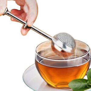 Mesh Tea Strainer Stainless Steel Tea Infuser Reusable Metal Tea Bag Filter