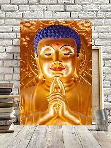 SUPERB BUDDHA CANVAS PICTURE #68 SPIRITUAL ASIAN ZEN RELIGIOUS CANVAS WALL ART