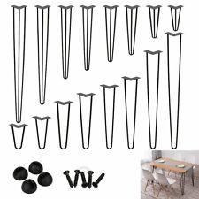 4x Hairpin Legs Hairpins Tischkufen Haarnadelbeine DIY Tischbeine Austauschbare