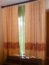 Disney World Caribbean Beach Resort Guest Room Window Green Sheer Curtain Prop