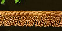 FINE BULLION FRINGE 6cm Wide Curtain Sewing Tassel Fringe Trim 1m