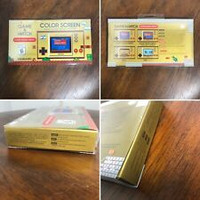 Nintendo Game and Watch Super Mario Bros Electronic Handheld IN HAND SHIPS TODAY