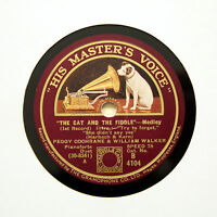 "PEGGY COCHRANE & WILLIAM WALKER (Piano) ""The Cat And The Fiddle"" HMV [78 RPM]"