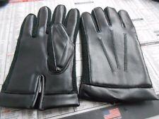 NOS MC Black Motorcycle Gloves Chopper Bobber Cafe Racer Vintage Small VMX Japan