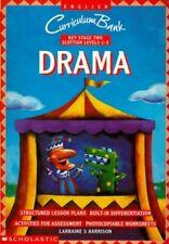 Drama KS2 (Curriculum Bank) by Harrison, Larraine S. Paperback Book The Cheap