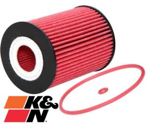 K&N HIGH FLOW CARTRIDGE OIL FILTER FOR JEEP COMMANDER XH EXL TURBO DIESEL 3.0 V6