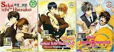 DVD Anime Sekai Ichi Hatsukoi + Movie + Junjou Romantica 1-3 Plus OVA Eng Sub