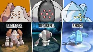Pokémon GO - Regirock, Regice, and Registeel Remote Raid Invite