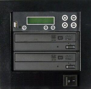 NEW MediaStor #a40 1-1, 1 Target 24X DVD Duplicator Copy USB Flash Thumb to DVD