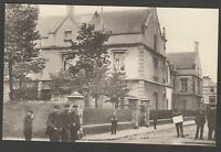 Postcard Cardiff Glamorgan Wales early view of The Sailors Home by MJRB