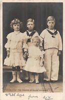 POSTCARD  ROYALTY   The  Prince  of  Wales'  Children