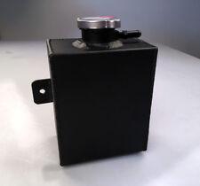 1.2l Aluminum Coolant Expansion Tank Radiator Overflow Tank Recovery Tank Black