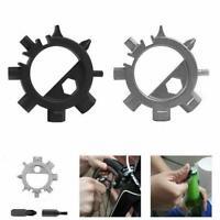 12-In-1 EDC Multi Octopus Screwdriver Bike Bicycle Repair Tool Bottle Opene D6O1