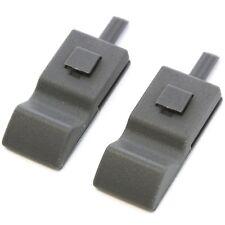 2 Fits Chevy/GMC Silverado/Sierra 07-13 Door Lock Knobs Front/Rear Titanium Grey