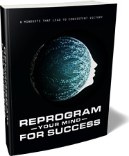 Reprogram Your Mind For Success- eBook, Videos on CD